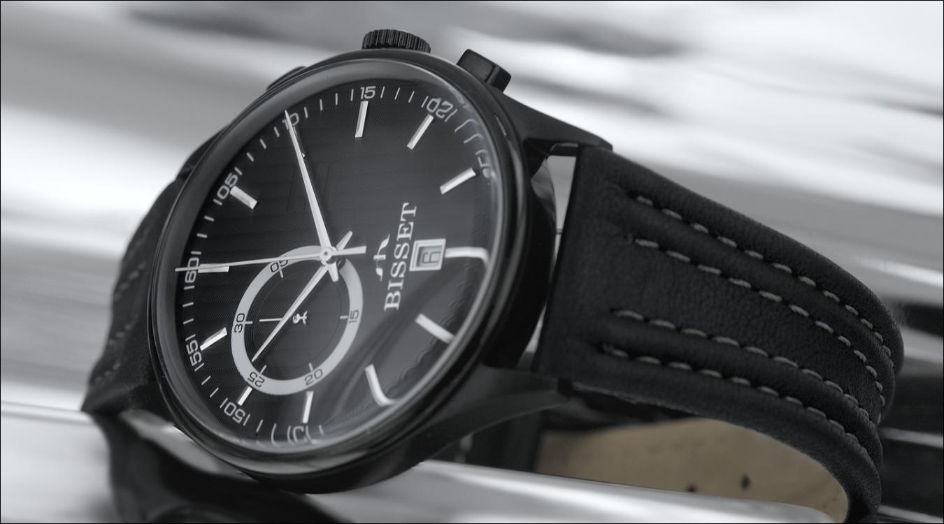 Pánské hodinky Bisset BSCC78BB