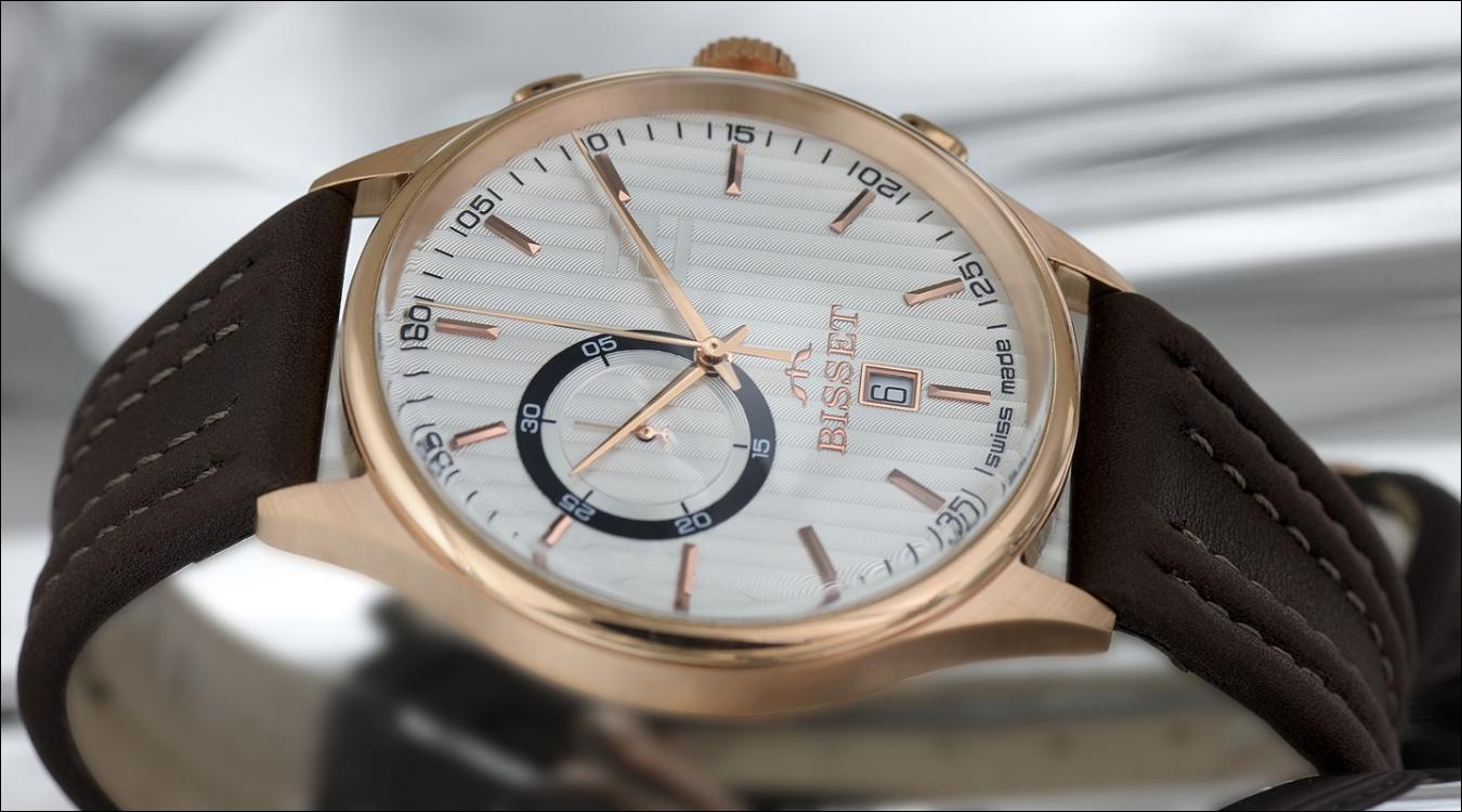 Pánské hodinky Bisset BSCC78R