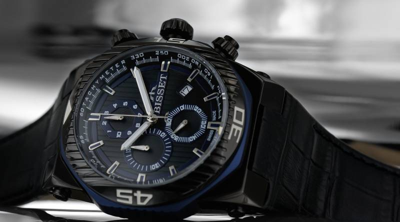 Pánské hodinky Bisset BSCD24TIBD05AX