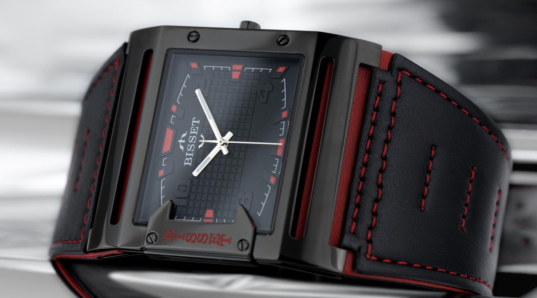 Pánské hodinky Bisset BSCD29BIBR03BX