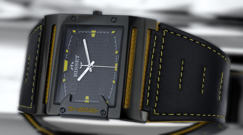 Pánské hodinky Bisset BSCD29BIBY03BX