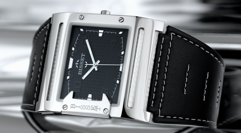 Pánské hodinky Bisset BSCD29SIBX03BX