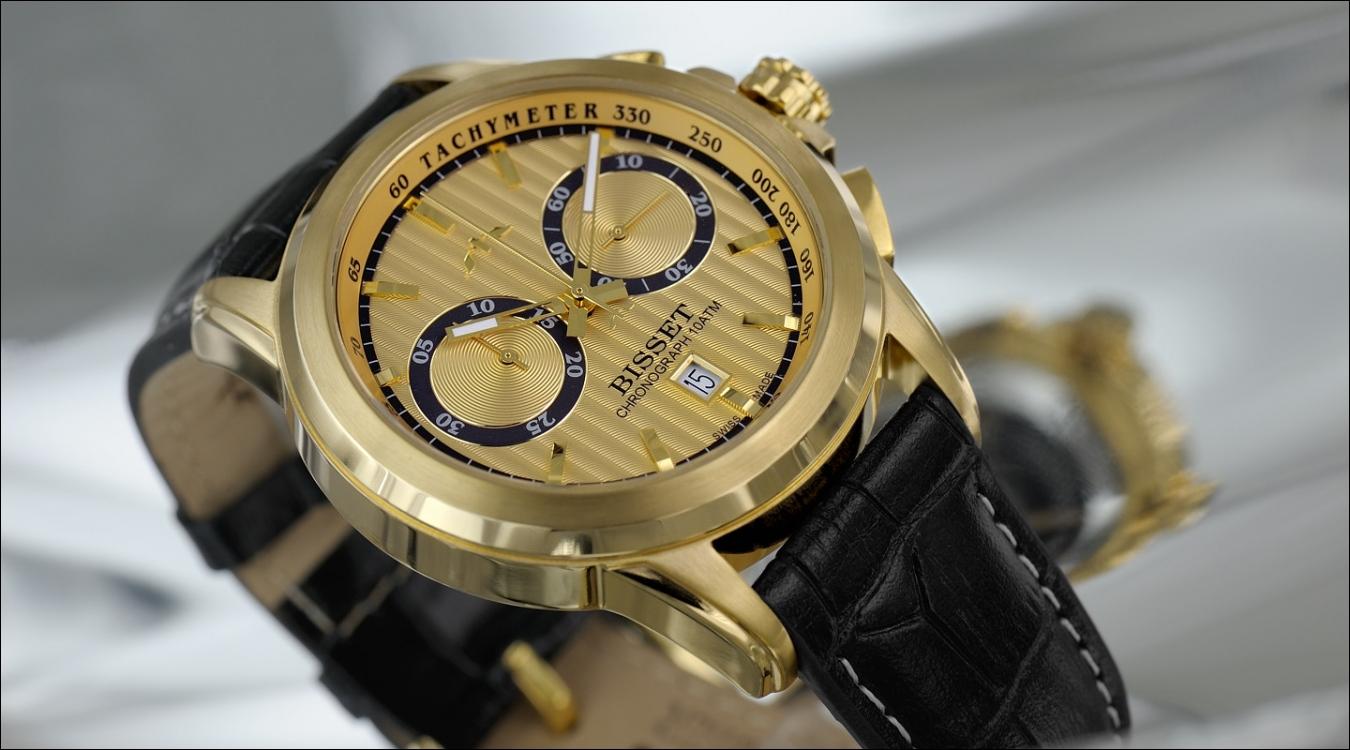 Pánské hodinky Bisset BSCX14GG
