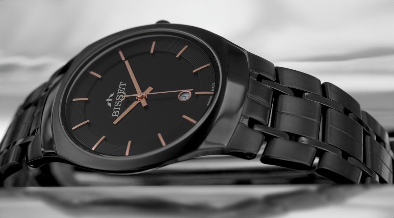 Pánské hodinky Bisset BSDC85BBG