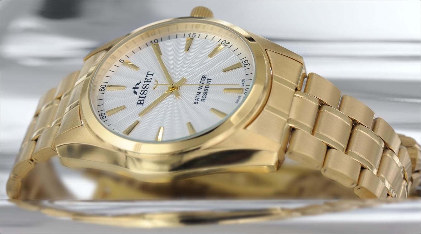 Pánské hodinky Bisset BSDD65GW