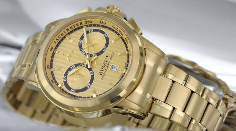 Pánské hodinky Bisset BSDX14GIGX10AX