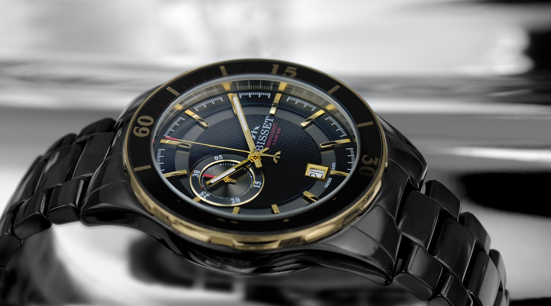 Pánské hodinky Bisset BSFE12TIBG03AX
