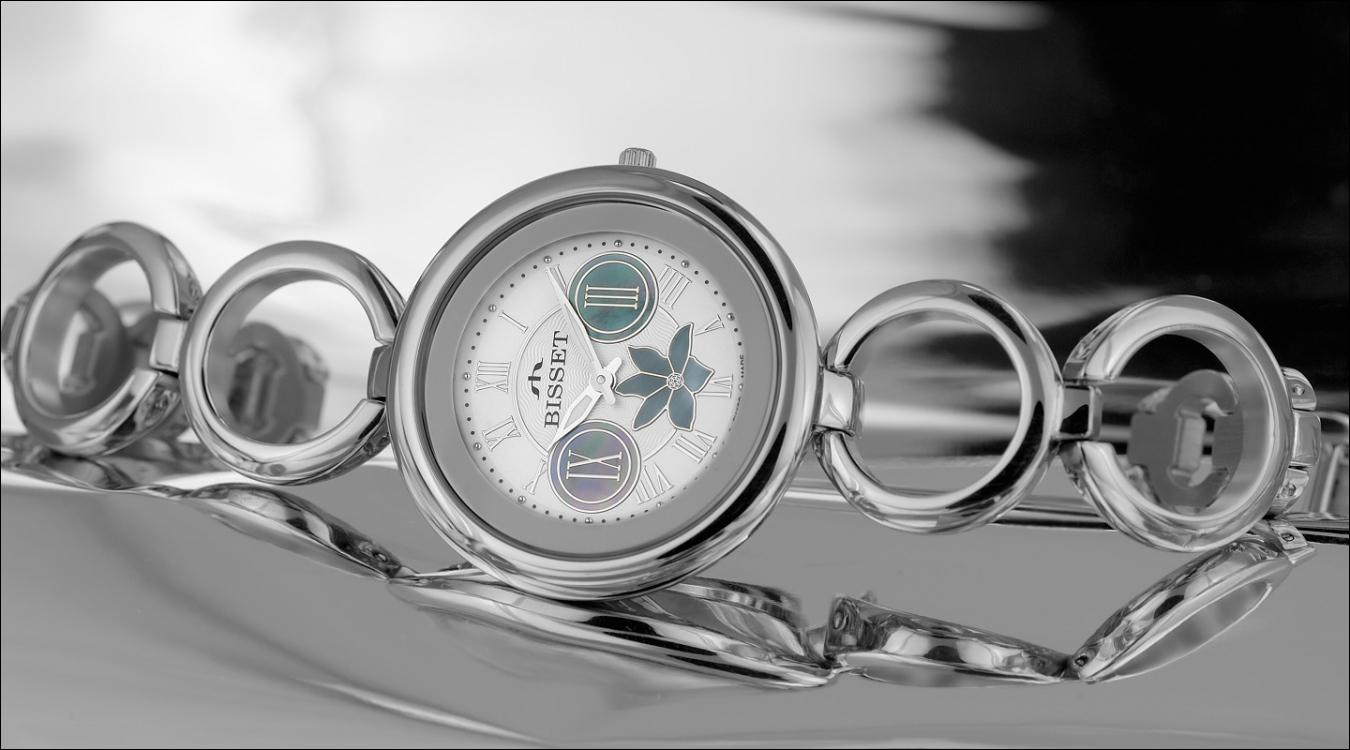 Dámské hodinky Bisset BSBD39SRWM03BX