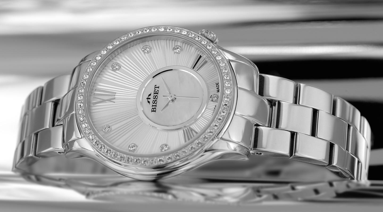 Dámské hodinky Bisset BSBE03SWSM05BX