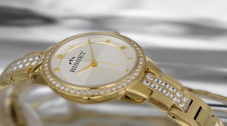 Dámské hodinky Bisset BSBE07GRSX03BX
