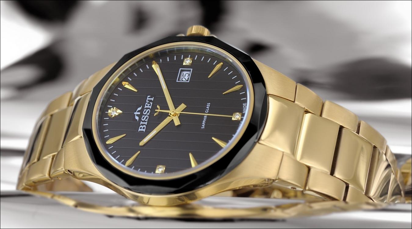 Dámské hodinky Bisset BSDD62GIBG05BX