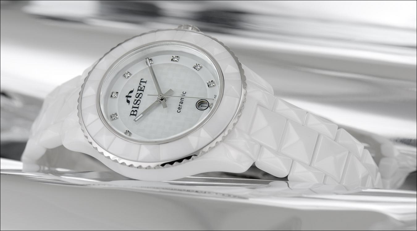 Dámské hodinky Bisset BSPD67SIWM03BX