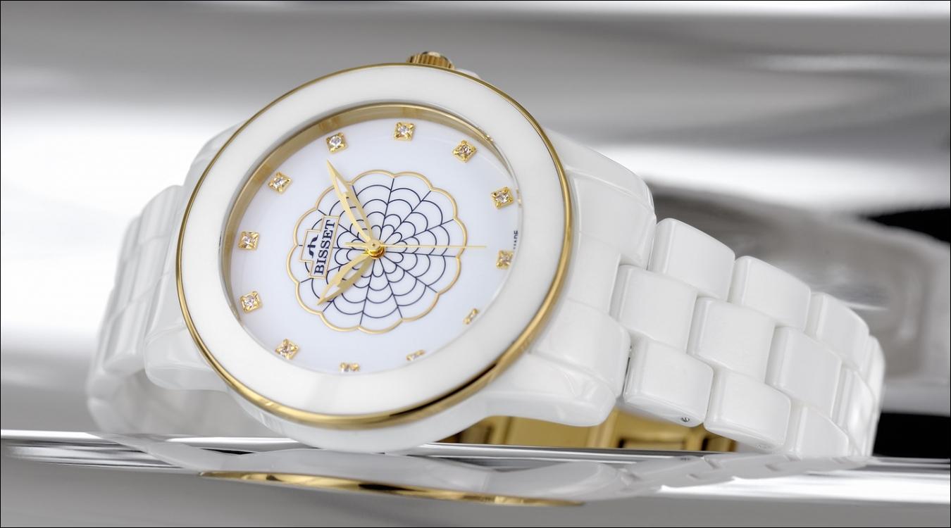 Dámské hodinky Bisset BSPD72GIWX03BX