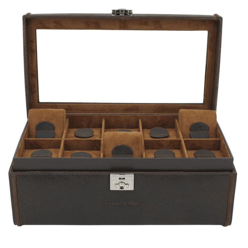 Friedrich Lederwaren Cubano 27024-3 box na hodinky