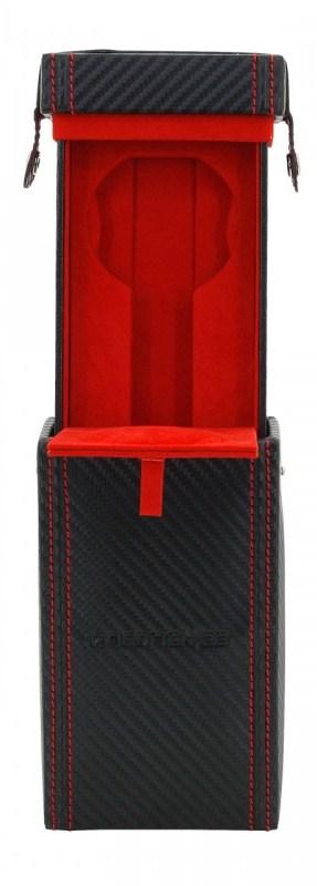 Friedrich Lederwaren Carbon 32052-2 kazeta na hodinky
